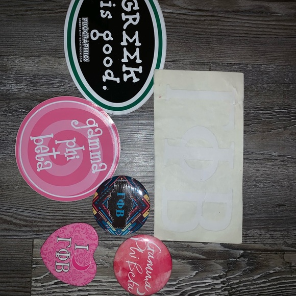 Gamma Phi Beta Stickers